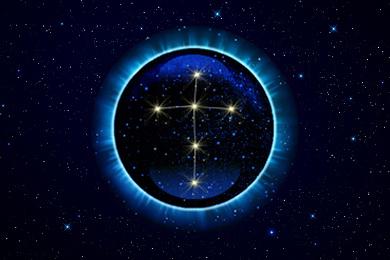 Созвездие Лебедь - верхний знак зодиака Сфинкс.
