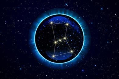 Созвездие Орион - верхний знак зодиака Охотник. Верхний Зодиак.