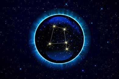 Ворон знак Верхнего Зодиака.